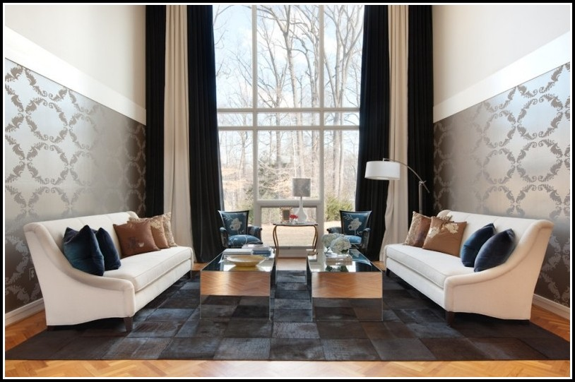 Gardinen Für Wohnzimmer Modern - wohnzimmer : House und Dekor ...