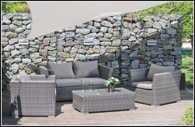 Garten Lounge Sessel Grau