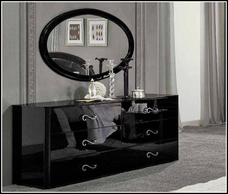 Kommode Schlafzimmer Schwarz Weiß