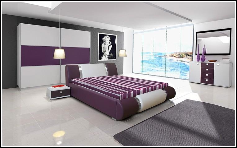 Komplett Schlafzimmer Weiß Lila - schlafzimmer : House und Dekor ...
