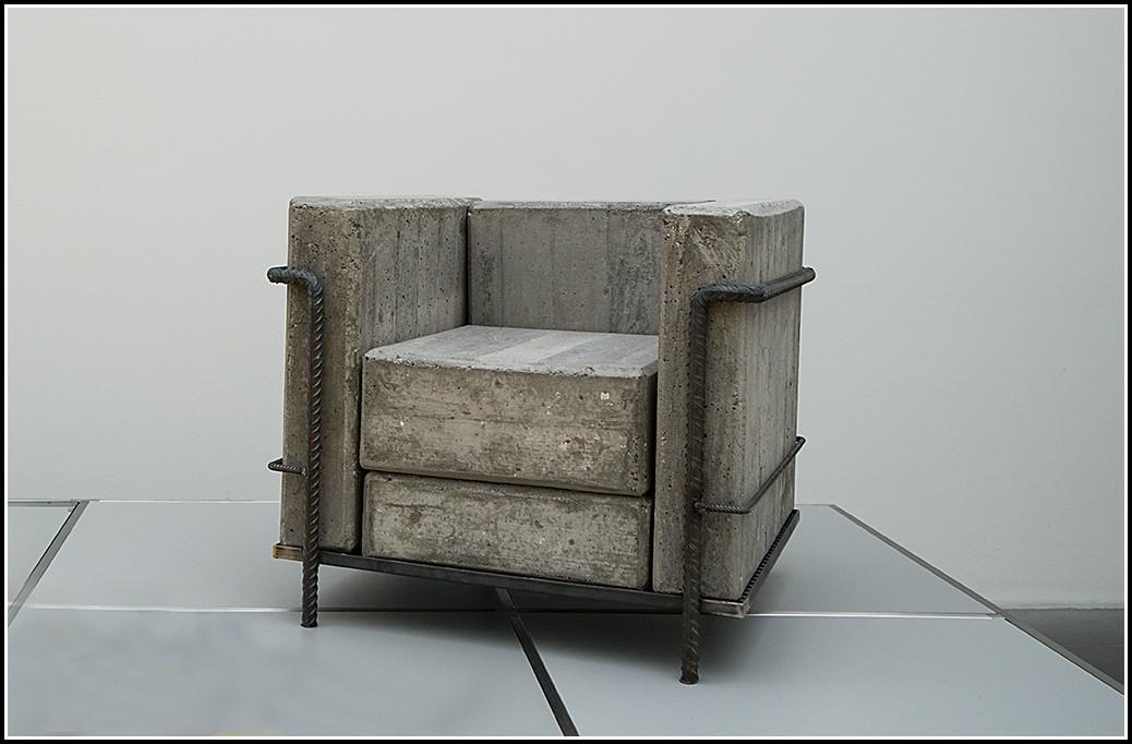 Le Corbusier Sessel Beton sessel House und Dekor