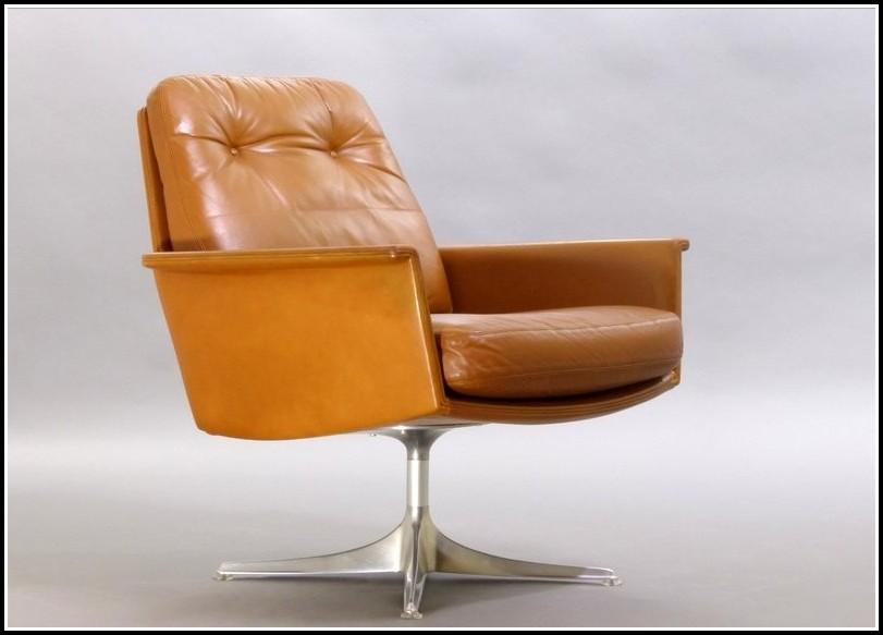Lounge Sessel Drehbar Leder