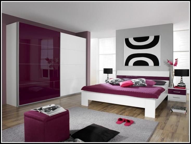 Schlafzimmer Komplett Weiß Brombeer