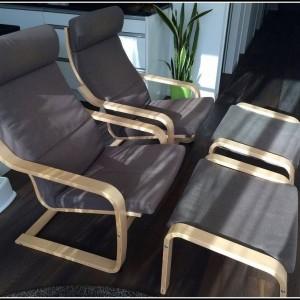 Sessel Mit Hocker Ikea