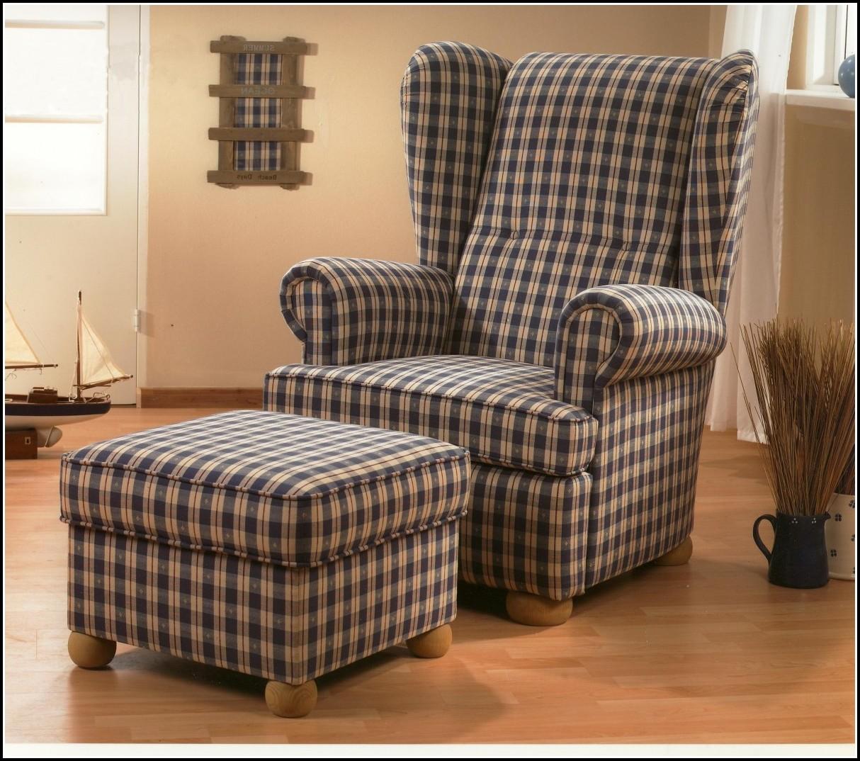 Wunderbar Sessel Mit Hocker Landhausstil