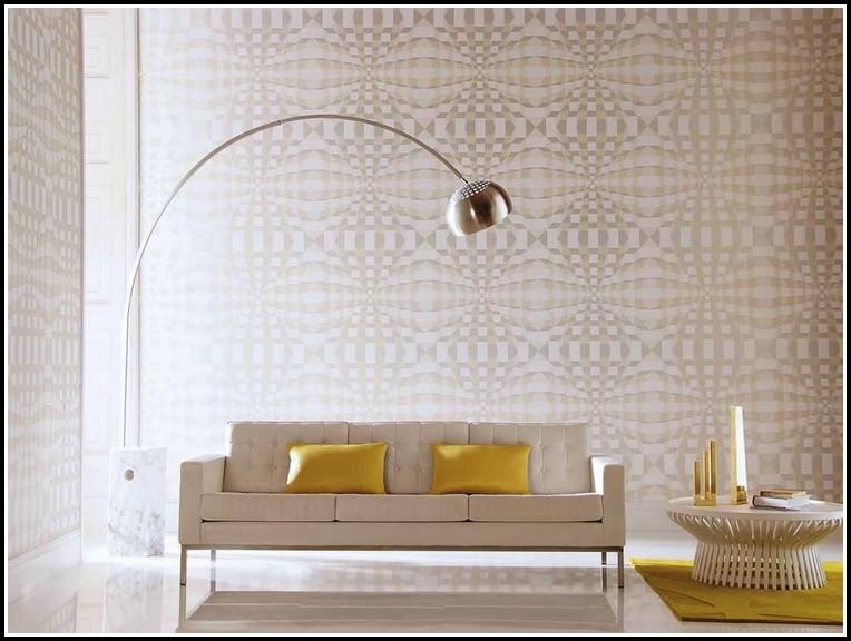 Tapeten Ideen Für Wohnzimmer