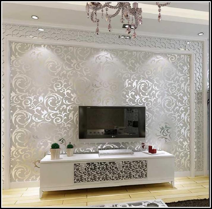 Tapeten Ideen Wohnzimmer Wohnzimmer House Und Dekor
