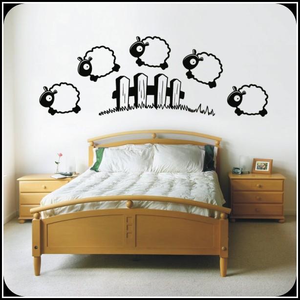 wandtattoo spr che f rs schlafzimmer schlafzimmer. Black Bedroom Furniture Sets. Home Design Ideas