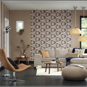 Wohnzimmer Tapete Ideen