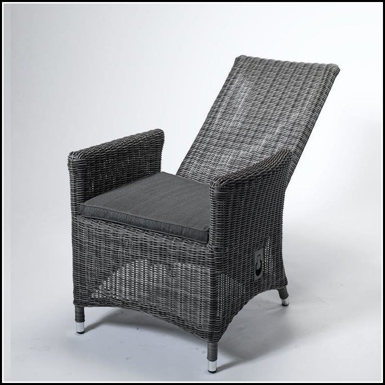 Polyrattan Sessel Verstellbar Grau sessel House und