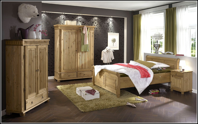 Schlafzimmer Kiefer Massiv Bernstein