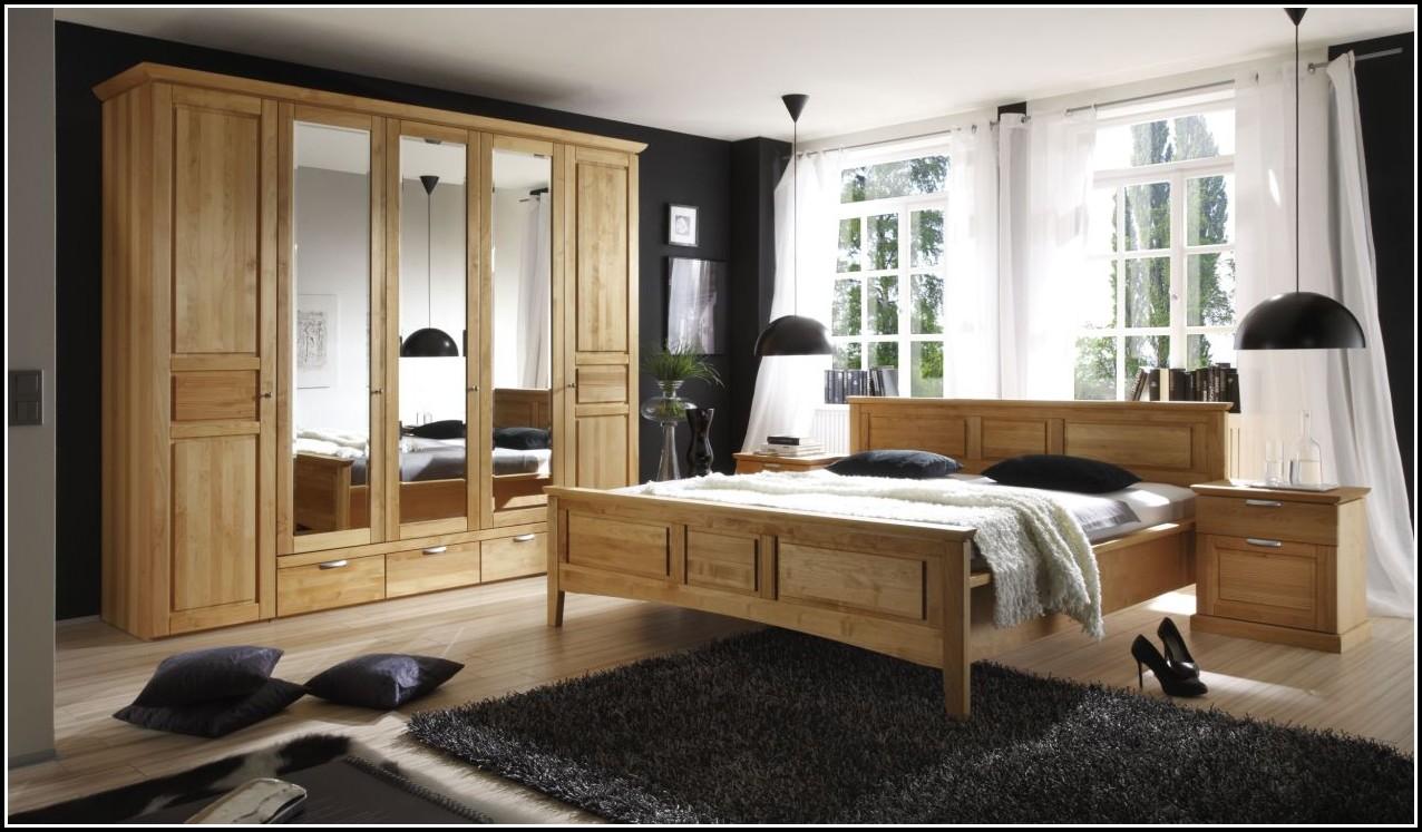 Schlafzimmer Komplett Massiv Buche