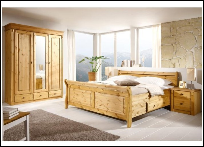 Schlafzimmer Komplettset Massiv