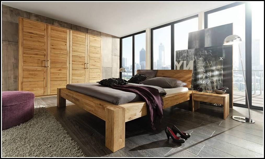 Holz Massiv Schlafzimmer Design