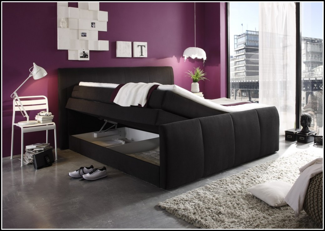 schlafzimmer komplett bett mit bettkasten schlafzimmer house und dekor galerie jlw85ex1eq. Black Bedroom Furniture Sets. Home Design Ideas