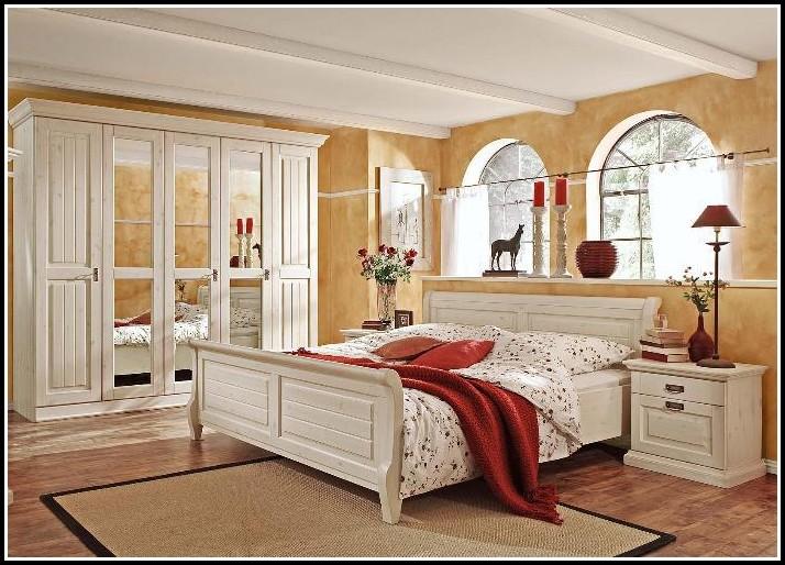 Schlafzimmer Malta Kiefer Massiv Weiss