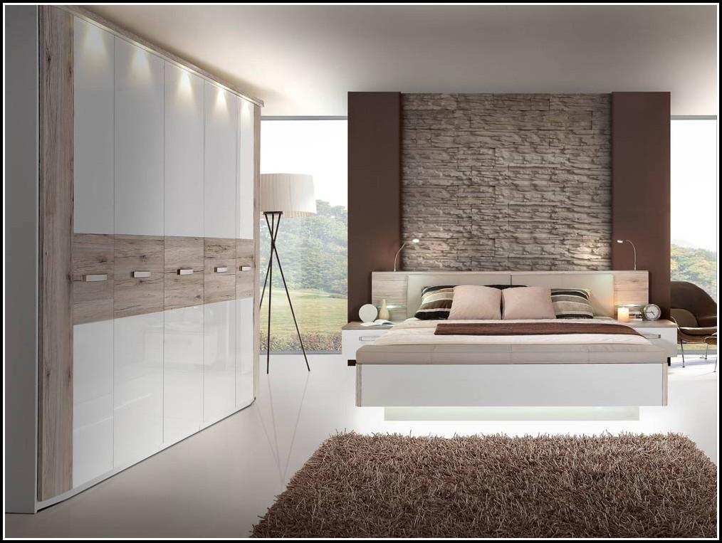 Schlafzimmer Set Novalis Hochglanz Weiß
