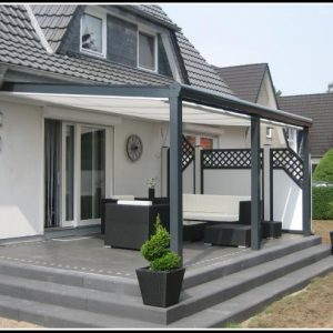 Alu Terrassenüberdachung Bausatz Freistehend