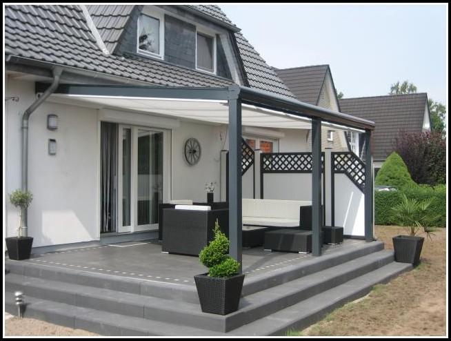 alu terrassen berdachung bausatz freistehend terrasse. Black Bedroom Furniture Sets. Home Design Ideas