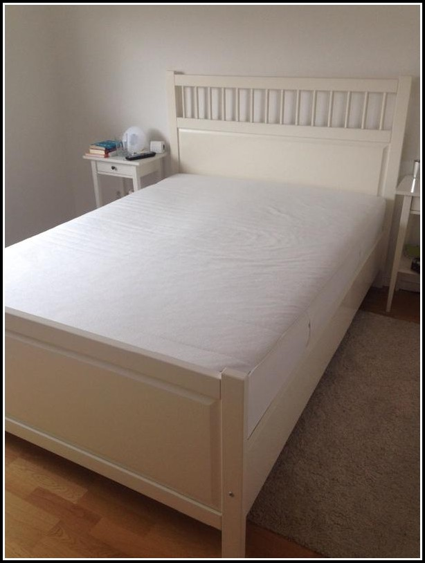 Bett 140x200 Weiß Gebraucht