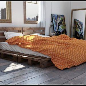 Bett Aus Paletten Mit Licht Betten House Und Dekor Galerie