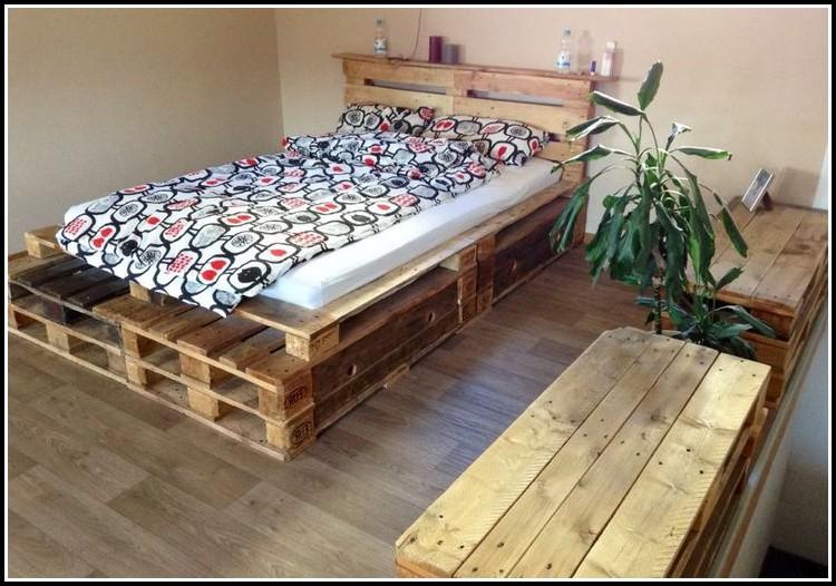bett aus paletten selber bauen anleitung betten house und dekor galerie ko1zzbz16e. Black Bedroom Furniture Sets. Home Design Ideas