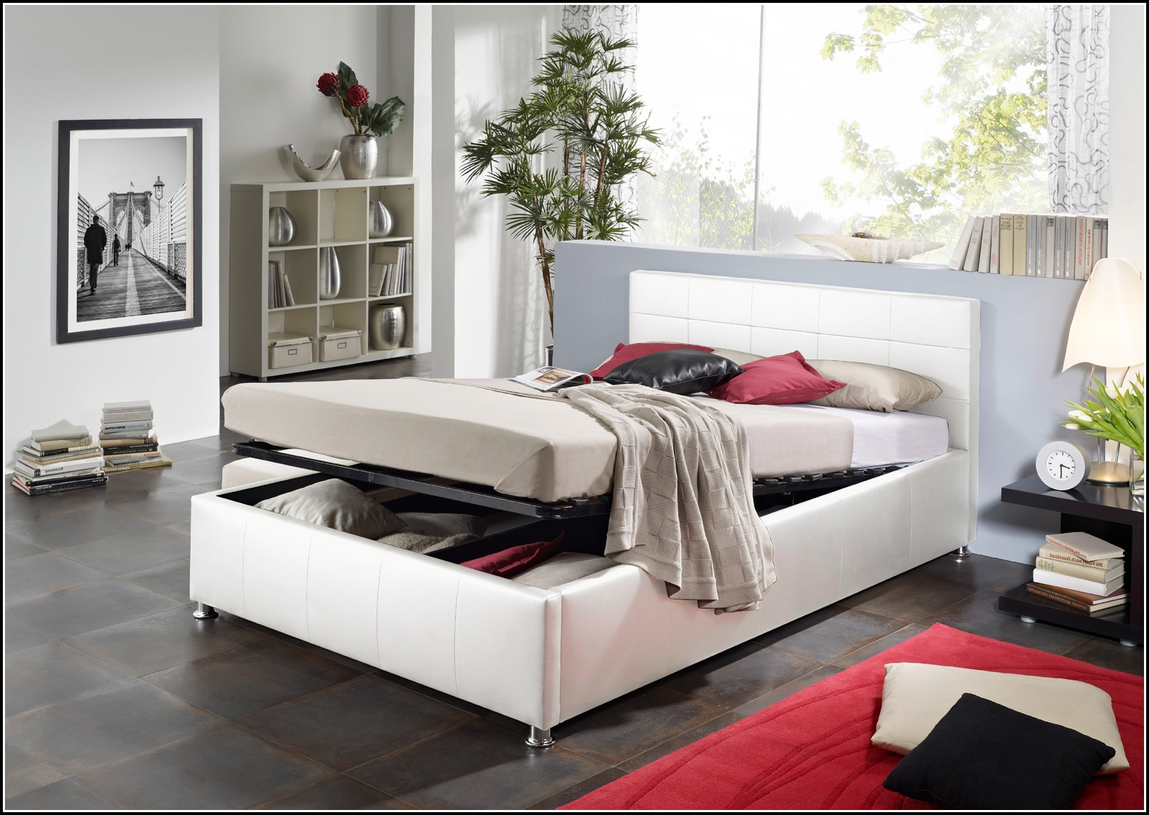 bett mit bettkasten 140x200 betten house und dekor. Black Bedroom Furniture Sets. Home Design Ideas