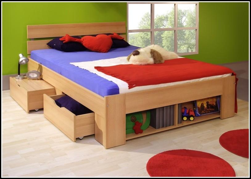 bett mit stauraum 140x200 betten house und dekor. Black Bedroom Furniture Sets. Home Design Ideas