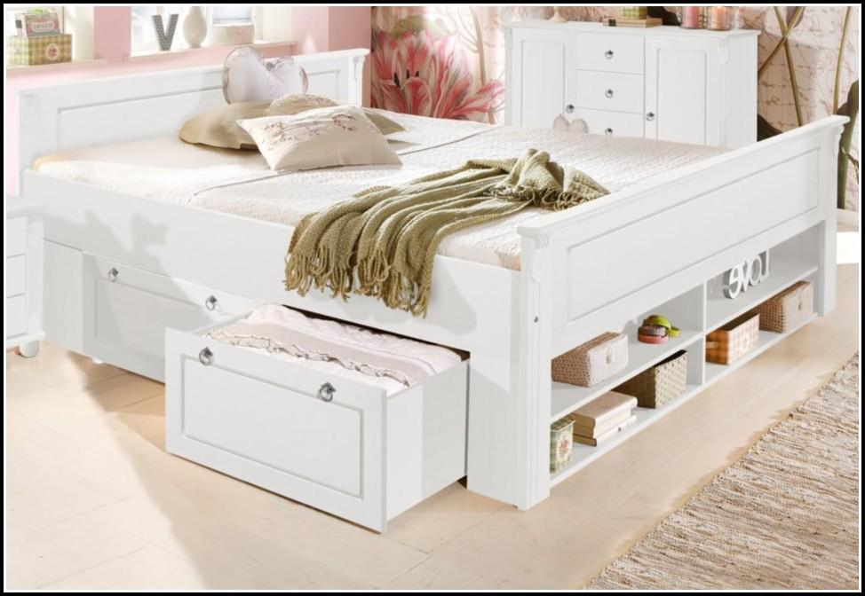 Bett Weiß 140x200 Mit Schubladen
