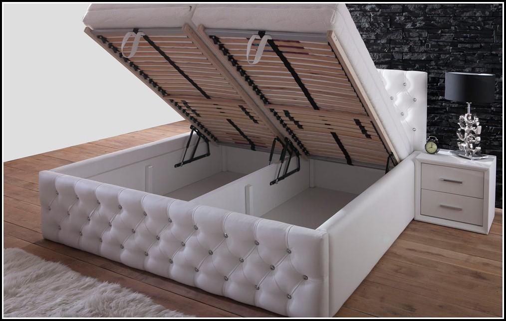 Bett Weiß 180x200 Mit Bettkasten