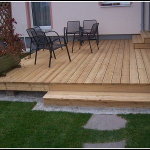 Garten Terrasse Selber Bauen Anleitung