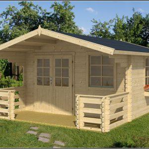 Gartenhaus Mit Terrasse Holz