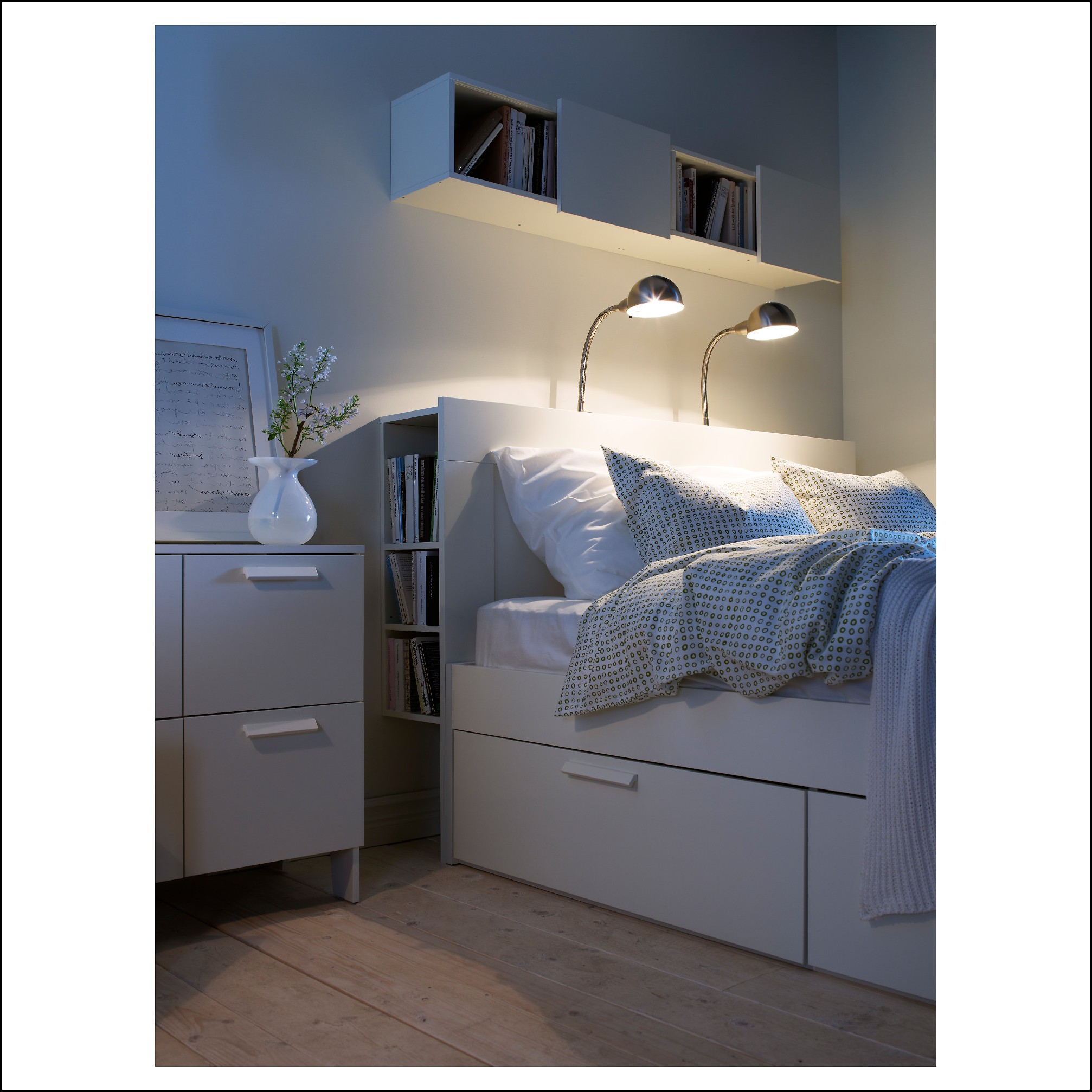 ikea brimnes bett kopfteil betten house und dekor. Black Bedroom Furniture Sets. Home Design Ideas