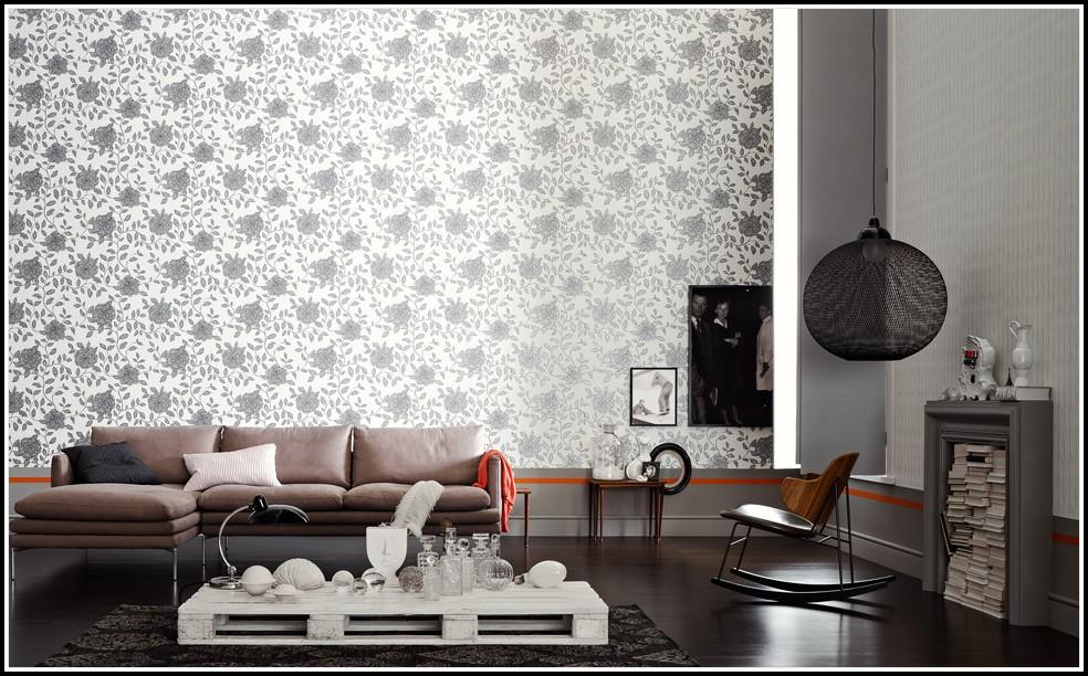 Schöner Wohnen Tapeten Wohnzimmer
