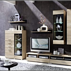 Schrankwand Wohnzimmer Ebay