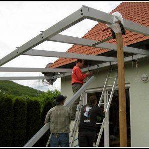 Terrassenuberdachung Holz Bausatz Glas Terrasse House Und Dekor