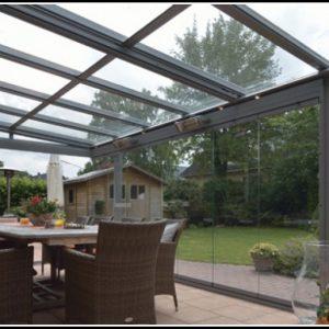 Terrassenüberdachung Alu Vsg Glas