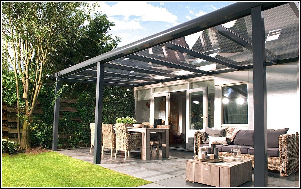 Terrassenüberdachung Aluminium Bausatz