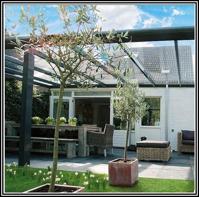 Terrassenüberdachung Bausatz Alu Glas
