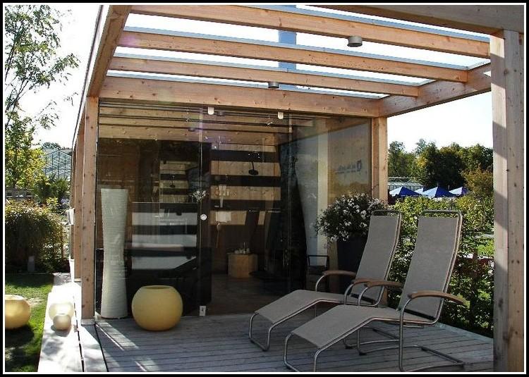 terrassen berdachung glas holz terrasse house und. Black Bedroom Furniture Sets. Home Design Ideas