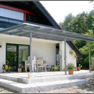 Terrassenüberdachung Glas Stahl