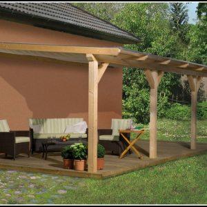 Terrassenüberdachung Holz Bausatz