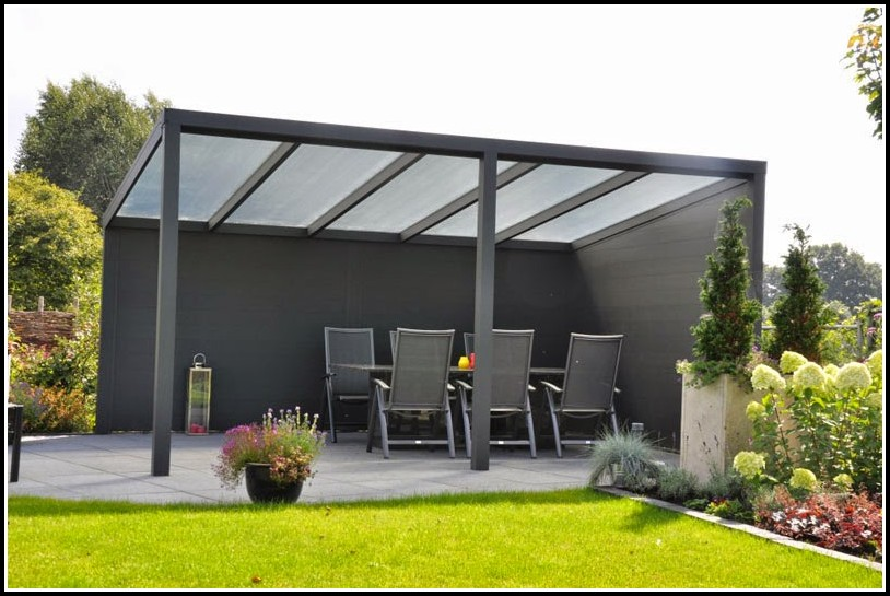Gut Terrassenüberdachung Holz Glas Bausatz