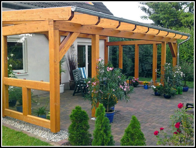 terrassen berdachung selber bauen holz terrasse house. Black Bedroom Furniture Sets. Home Design Ideas
