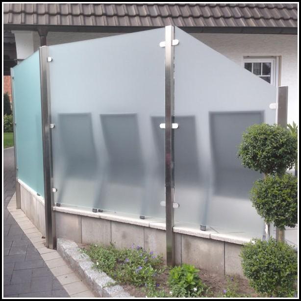 Terrassen sichtschutz glas terrasse house und dekor for Terrassen sichtschutz glas