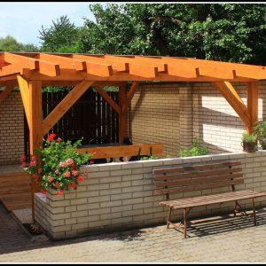 Terrassenueberdachung Holz Bausatz