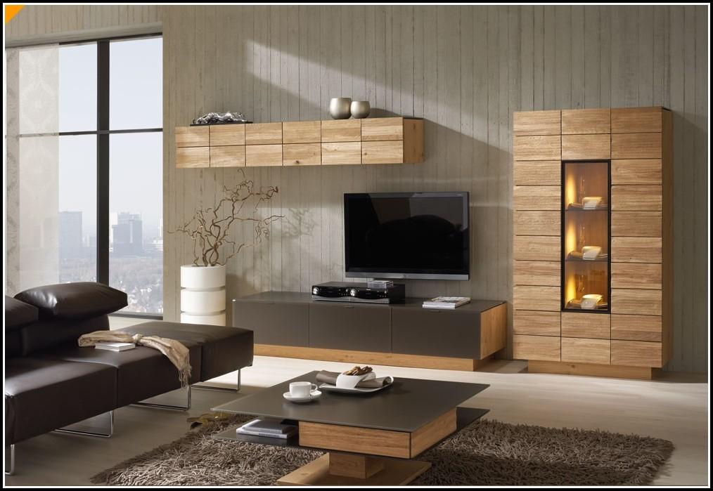Wohnzimmer Massivholzmöbel