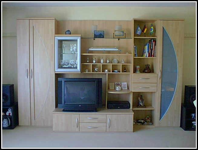 Wohnzimmer Schrankwand Hülsta