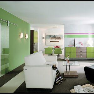 Wohnzimmer Schrankwand Schiebetüren