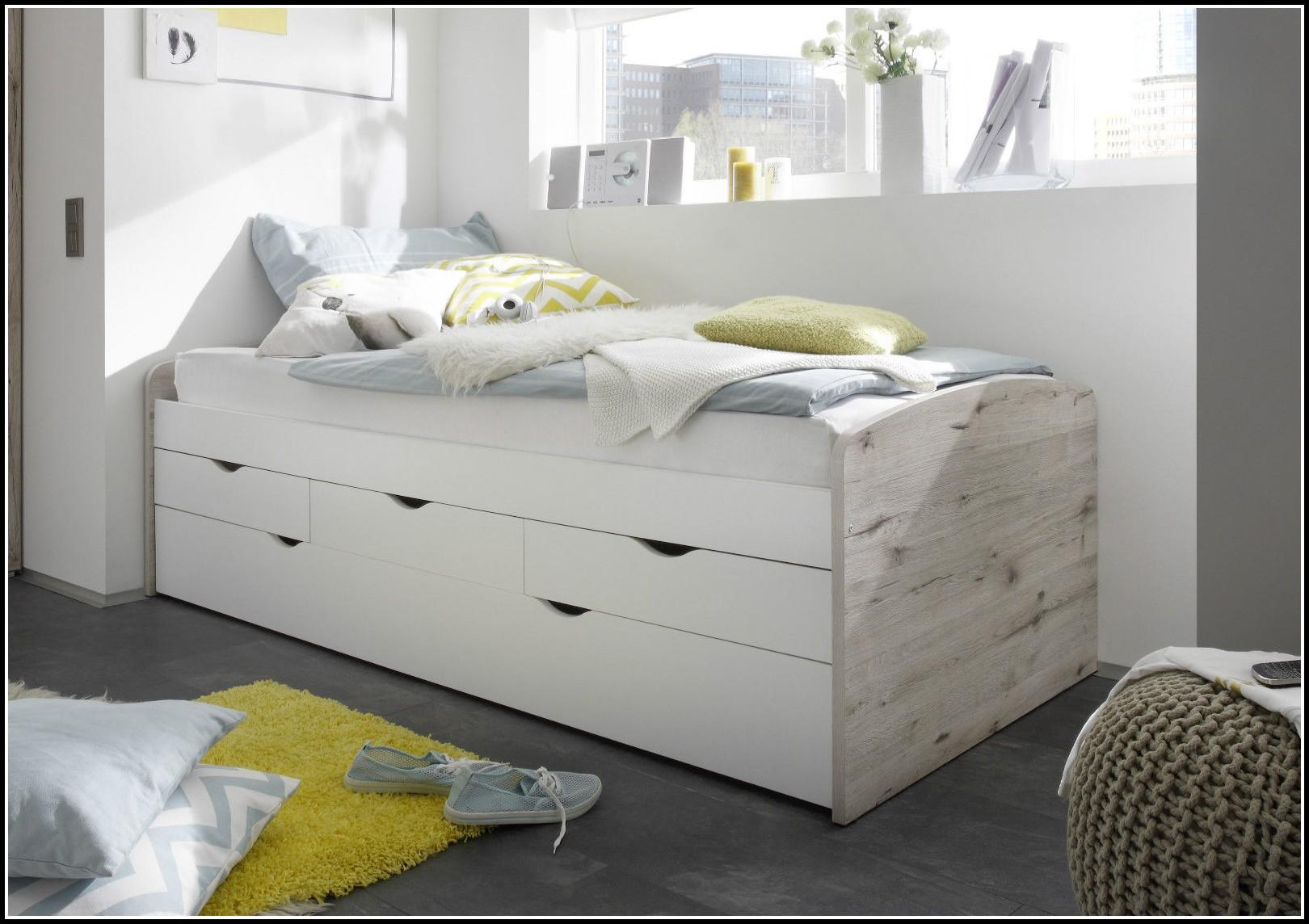 bett 90x200 weis mit stauraum betten house und dekor. Black Bedroom Furniture Sets. Home Design Ideas